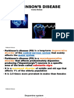 Parkinson's Disease Ppt