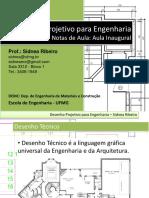 Aulas de Desenho Projetivo 1 - introduçao