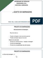 3. Projeto de Barragens