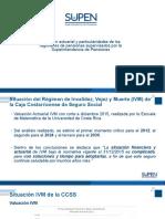 Álvaro Ramos - Situación actuarial y particularidades de los regímenes de pensiones supervisados por la Superintendencia de Pensiones