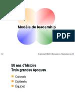Modèle de Leadership