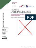 Picasso l'Eternel Feminin