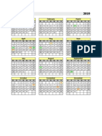 Calendario Permanente