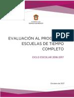 Evaluación al PETC 2016-2017