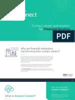 Amazon Connect eBook Financial