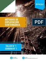 Taller 1- Metodos de Explotacion