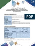 Guía de Actividades y Rúbrica de Evaluación - Tarea 1 - Reconocer Los Fundamentos, Conceptos y Propósitos de La Ingeniería Económica