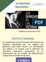 Politica Criminal y Victimologia
