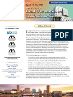 ABA 33rd Annual Land Use Institute Brochure 4-2019