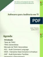 Softwares para auditoria em TI
