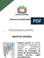 Tecnicas de Merchandising 1era Presentacion