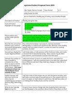 kaitlyn tippie - cunningham senior capstone product proposal