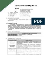 3) Unidad Didactica Nº 02 - 1º Grado