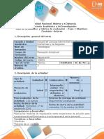 Guía de actividades y rúbrica de evaluación  Fase 1 -Determinar objetivos, contexto, actores y acontecimiento precipitante del escenario.docx