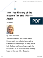 Judge Anna-The True History of the Income Tax and IRS