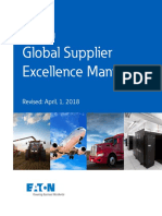 Eaton Global Supplier Excellence Manual