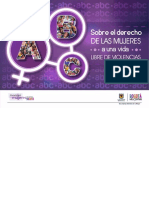 Cartilla ABC Derechos de Las Mujeres SDM_Libre de Violencias_Alcaldía Bogotá