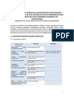 Bases Concurso Publico Salud 2019