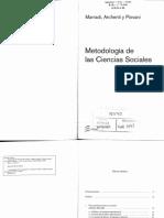 Archenti Marradi y Piovani - Cap III Metodo Metodología y Técs