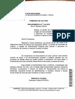 Requerimento para criação de subcomissão