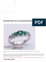 Alexandrite Value, Price, And Jewelry Information - International Gem Society