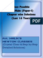 JEE Main Previous 16 Years Solved Papers