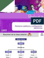 Clase 2 TC Números Cuánticos y Configuración Electrónica