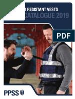 Stab Resistant Vests Catalogue 2019