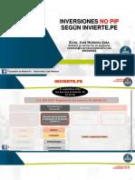 Presentación PPT - Elaboración de Inversiones NO PIP
