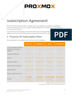Proxmox VE Subscription Agreement V3.4