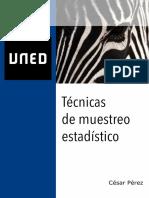 Cesar Pérez - Técnicas de Muestreo Estadístico (2010, Garceta)