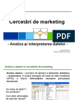 Curs 7 Cercetari de Marketing