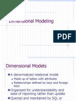 c 01 Dimensional Modeling