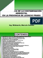 Problemática Ambiental Provincia Leoncio Prado-Perú