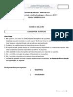 Prova Ufsc 2019-1 QUIMICA