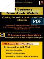 25 Lessons (Jack Welch)