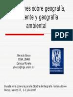 Bocco Geografia y Ambiente