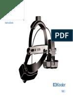 Keeler Vantage Ophthalmoloscope - Instructions