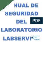 Manual de Seguridad Del Laboratorio Labservi