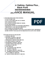 UPS PowerMAN Optima, Optima Plus SERVICE MANUAL