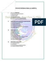 1. Documentos de Entrega Para La Carpeta