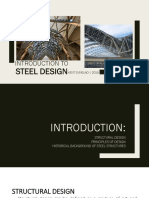 Introduction to Steel Design