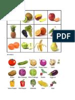 10 frutas
