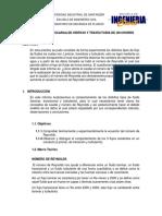 DESCARGA DE ORIFICIO Y TRAYECTORIA DE CHORRO