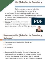 Cap. 10-11 Remuneracion, Admon de Sueldos y Salarios