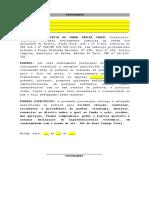 Modelo de Procuração e Contrato