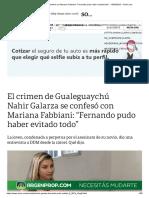 Nahir Galarza Se Confesó Con Mariana Fabbiani_ _Fernando Pudo Haber Evitado Todo_ - 15-03-2019 - Clarín.com
