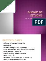 4-Clase DISEÑOS DE ESTUDIOS