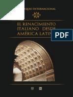 El renacimiento italiano desde américa latina