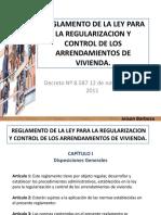 ley de arrendamiento regulado venezuela